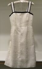 J.CREW Sequin Trim Bouclé Tennis Dress ~ Ivory ~ Sz 0 XS ~ $398 sundress ~ NWT