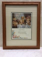 Windsor Art Products Solid Oak Wood Frame Art Print Picture Family Reunion