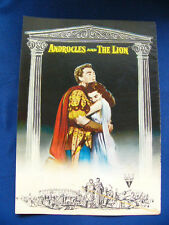 ANDROCLES AND THE LION Japan VINTAGE PG Victor Mature Jean Simmons Alan Young