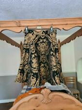 Chicwish black and gold skirt size XLarge