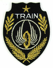 ECUSSON MILITAIRE MILITARIA BRODÉ EMBROIDERED PATCH MERESSE REGIMENTS DU TRAIN