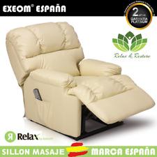 Sillon Relax Con Masaje 10 Funciones y Calor Lumbar Relax&Restore® Beige