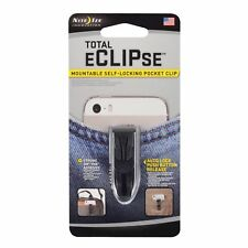 Nite Ize Total eCLIPse Pocket Clip Quick-Release Mountable Self Lock Waistband