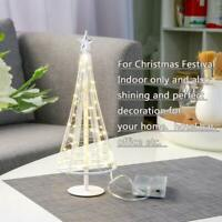 Lovely Little Christmas Tree Light, 10.2 inch Tall 40 Warm White LED on Copper W