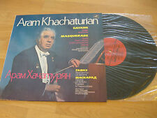 LP Aram Khachaturian Gayane Masquerade Vinyl Melodija UDSSR CM04369 70