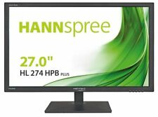"""*Brand New & Boxed* Hanns G HANNspree HL274HPB 27"""" Wide 5ms HDMI LED Monitor"""