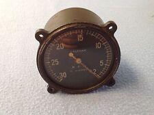 Waltham rpm in hundreds tachometer  1935 airplane aviation