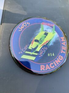 J & D U-11 Racing Team #14 Of 50 Unlimited Hydroplane Pin button Seattle Seafair