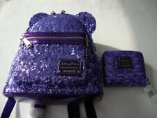 Disney x Loungefly Potion Purple Sequin Mini Backpack