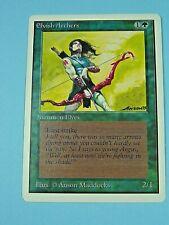 Elvish Archers - Green creature MP/LP — Unlimited MTG