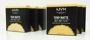 NYX Professional Makeup Stay Matte But Not Flat Powder Foundation QTY 3