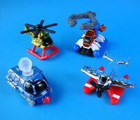 McDonald's 1996 Micro Machines - Complete Vintage Set of 4 Happy Meal Toys