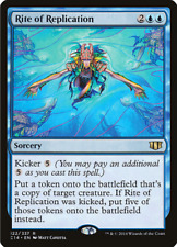 MTG - Blue - Rite of Replication - Commander 2014 - Sorcery