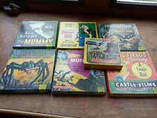 Free Shipping Vntg Super 8 Lot Of 7 Frankenstein And More