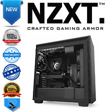 NZXT H710i Black Mid Tower Case w/Tempered Glass Window RGB Smart Device V2