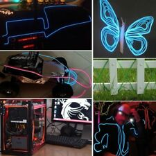 Neon Flexible LED Light Glow El Wire String Rope Car Dance Party Controller Lamp