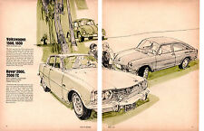 1967 VOLKSWAGEN 1500, 1600 - BEST ECONOMY CAR ~ ORIGINAL 2-PAGE ARTICLE