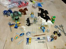Authentic Lego Minifigures King Knights Robin Hood weapons monsters