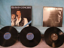 2 Records 1 Price! Elvis Presley, The First Live Recordings / Elvis In Concert