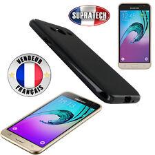 Coque Housse Silicone Noir Souple pour Samsung Galaxy J3 2016