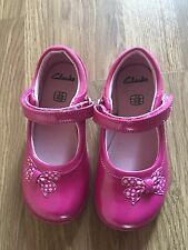 Girls Clarks Shoes 8H