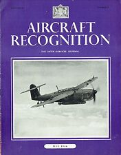 AIRCRAFT RECOGNITION JOURNAL MAY 44: TORPEDO BOMBERS/ P-51/ JAP NAVY FIGHTERS/