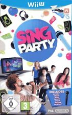 Wii U Sing Party ( incl. Microphone) Nintendo Wii U NEW