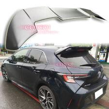 Unpainted trunk spoiler for Toyota 2019~ Auris Corolla hatchback SE XSE ◎