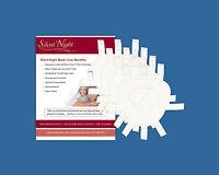 SILENT NIGHT CPAP + BiPAP MASK LINERS - Sleep Apnoea - Helps Leaks + Face Marks