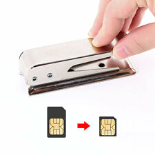 Standard Regular Micro SIM Card to Nano SIM Cut Cutter For Apple5 iPhone5 5G tC