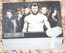 . X-Men Origins Wolverine - Complete 72 card base set by Rittenhouse in 2009