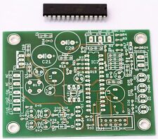 Leiterplatte + Controller für Auto Bias 2Ch f. 6c33, KT88 Röhrenverstärker etc.