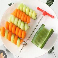 Vegetable Spiralizer Spiral Potato Cutter Twist Shredder DIY Rotate Slicer
