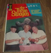THE THREE STOOGES #54 GOLD KEY COMIC 1972 IN VG-