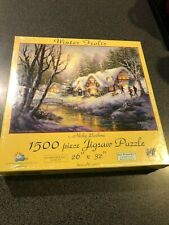 "Puzzle, ""Winter Frolic"" by Wicky Boehme"