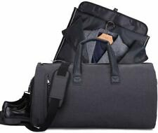 Black Suit Bag Travel Garment Luggage Waterproof Clothes Storage Duffel Bag