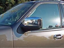TFP 523 EXTERIOR MIRROR COVER CHROME PLATED 2-PK 2003-06 Ford Exp. Lincoln Nav