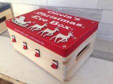Personalised Vigilia di Natale scatola. divertente per bambini Natale Vigilia. tradizione Starter.
