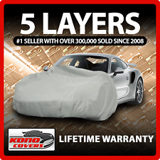 Black FS836F5 Covercraft Custom Fit Car Cover for Select Plymouth P7 Roadking Models Fleeced Satin