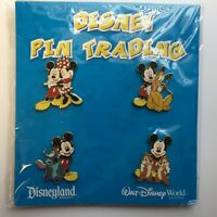 Booster Collection - Mickey Mouse & Friends - 4 Pin Set Disney Pin 45834
