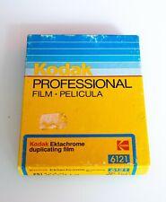 Kodak Ektachrome Professional Duplicating Film 6121 4x5 25 Sheets 1991