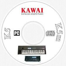 Kawai K5 / K5m Synth Sound / Patch Library, Manual, MIDI Software & Editors CD