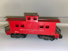 American Flyer Lines 24627 caboose
