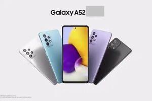 New Samsung Galaxy A52 A5260 5G 8GB 128GB Unlocked  Smart Phone All Colour