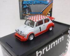 FIAT ABARTH 1000 Gr.2/70 #1 CAMPANINI COPPA CARRI MONZA 1970 1/43 BRUMM R371