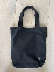 Porter Yoshida X Trunk Waxed Canvas Tote Bag Black