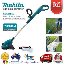 Makita Line Trimmer - 18V DUR181Z 7800RPM Cordless Brush Cutter Whipper Snipper