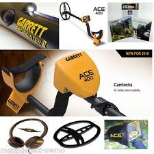 New Garrett Ace 400 Metal Detector with Iron Audio, Vdi Display & Propointer Ii