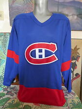 Montreal Canadiens Sewn Ccm Hockey Jersey Large