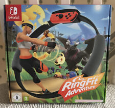 NEW NINTENDO SWITCH RING FIT ADVENTURE (GAME, RING AND STRAP)